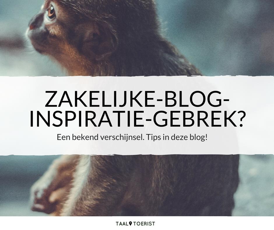 zakelijke blog inspiratie