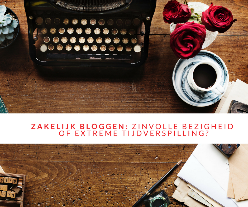 beginnen met zakelijk bloggen