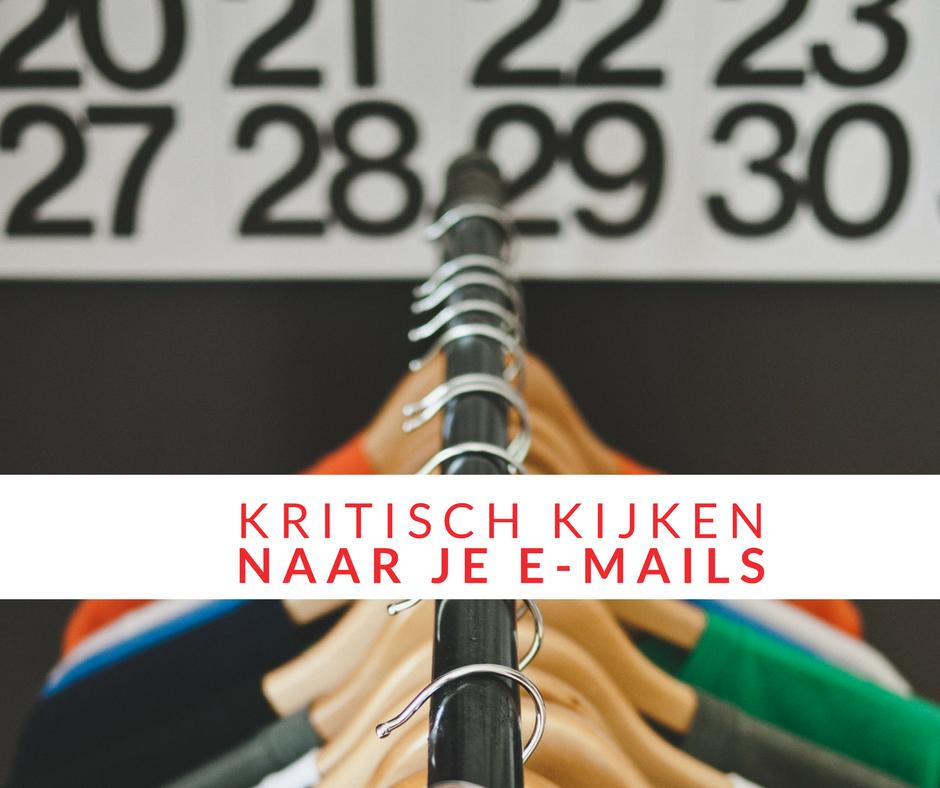 Wanneer heb jij voor het laatst jouw automatische e-mails bekeken?