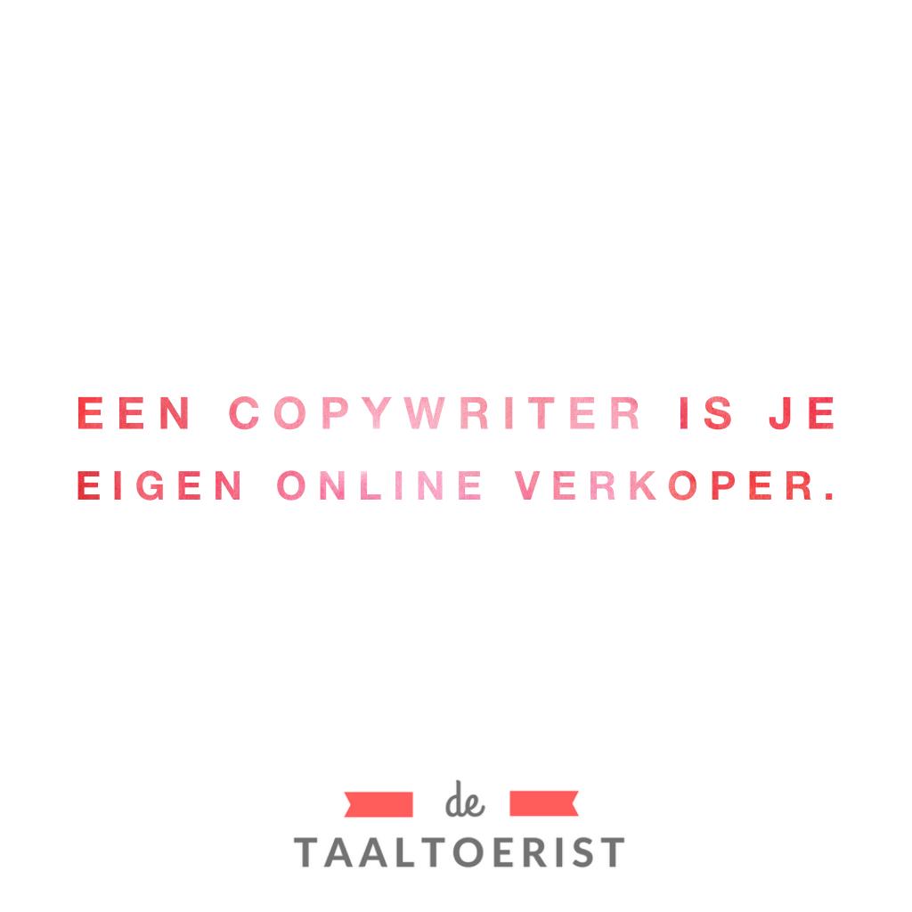 een goede copywriter