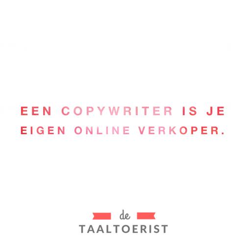 Wat kan een copywriter allemaal voor je betekenen?