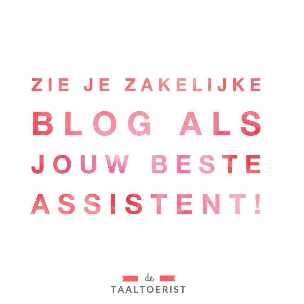 zakelijke blog financieel succesvol
