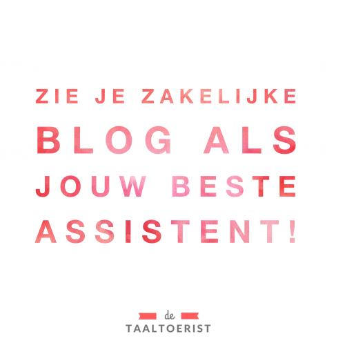 Zo word je zakelijke blog ook financieel succesvol